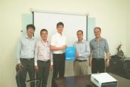 Chuyến viếng thăm của GS. Tomoaki Ohtsuki, Đại học Keio, Nhật Bản