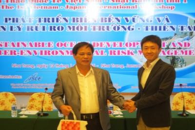 """Hội thảo quốc tế Việt – Nhật về """"Phát triển biển bền vững và quản lý rủi ro môi trường – thiên tai"""""""